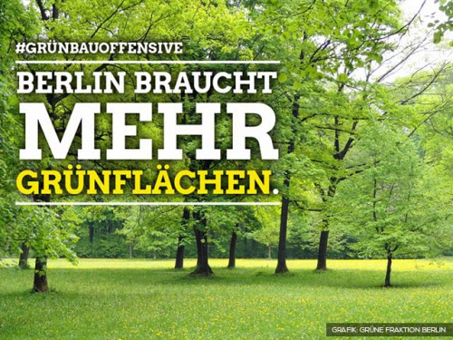 Berlin braucht eine Grünbauoffensive