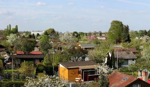 Schrebergärten vs. Wohnungsbau